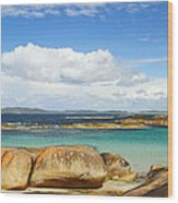 Greens Pool - Western Australia 2am-112587 Wood Print