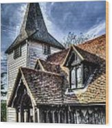 Greensted Church Ongar Wood Print