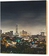 Greenway Plaza And The Galleria Wood Print