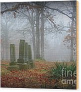 Greenwood Cemetery 3 Wood Print