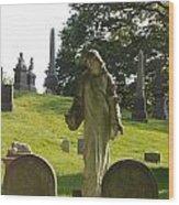 Greenwood Cemetery Wood Print