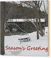 Greeting Card-3 Wood Print