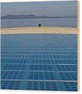 Greetings To The Sun Zadar Installation Wood Print