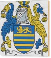 Gregory Coat Of Arms Irish Wood Print
