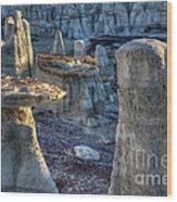 Gremlins Bisti/de-na-zin Wilderness Wood Print