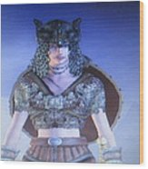 Gretta - Age Of Conan Unchained Wood Print