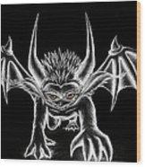 Grevil Chalk Wood Print by Shawn Dall