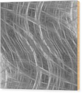Grey Abstract Background Wood Print