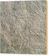 Grey Rock Texture Wood Print
