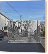 Greystone Avenue In North Providence Rhode Island Wood Print