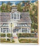 Greystone Inn II Wood Print