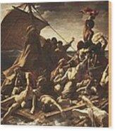 G�ricault, Th�odore 1791-1824. The Raft Wood Print