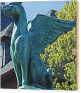 Griffin Natural Color Wood Print