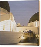 Griffith Park Observatory No. 3 Wood Print