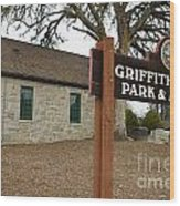 Griffith Quarry Park And Museum Penryn California Wood Print