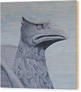 Griffon Statue Wood Print