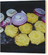 Grilled Veggies #1 Wood Print