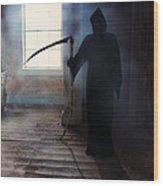 Grim Reaper Wood Print