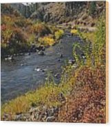 1012a Grimes Creek Boise Id Wood Print