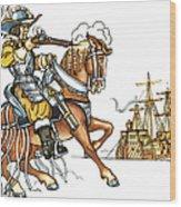 Grimm: Faithful John Wood Print