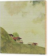 Grindelwald Dobie Inspired Wood Print