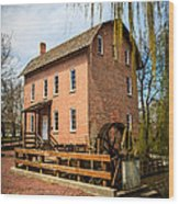 Grist Mill In Deep River County Park Wood Print