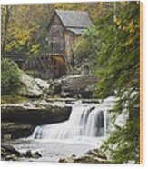 Grist Mill No. 2 Wood Print by Harry H Hicklin