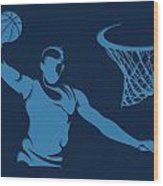 Grizzlies Shadow Player1 Wood Print