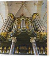 Groningen Pipe Organ Wood Print