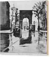 Grossman Square, C1940 Wood Print