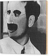Groucho Marx Wood Print