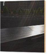 Ground Zero Memorial Three Wood Print