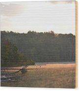 Grousehaven Lake - Rifle River State Park Wood Print by Jennifer  King