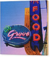 Grove Fine Food Wood Print