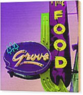 Grove Fine Food Var 2 Wood Print