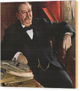 Grover Cleveland Wood Print