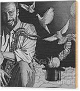 Grover Washington Jr Wood Print