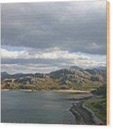Gruinard Bay Wood Print