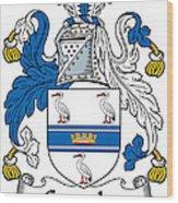 Grumley Coat Of Arms Irish Wood Print