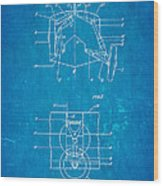 Grumman Retractable Landing Gear Patent Art 1932 Blueprint Wood Print