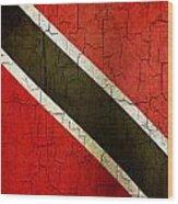 Grunge Trinidad And Tobago Flag Wood Print