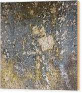 Grungy Cement Wall Wood Print