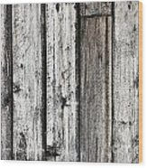 Grungy Old Wood Background Wood Print