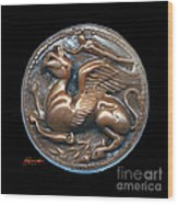 Gryphon Or Griffin Wood Print by Patricia Howitt