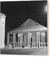 Gt Town Hall Wood Print