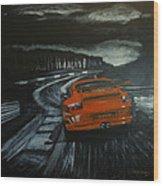 Gt3 @ Le Mans #2 Wood Print