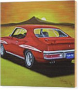 Gto 1971 Wood Print