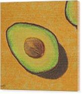 Guacamole Time Wood Print