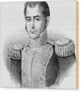 Guadalupe Victoria (1789-1843) Wood Print
