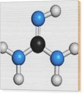 Guanidine Molecule Wood Print